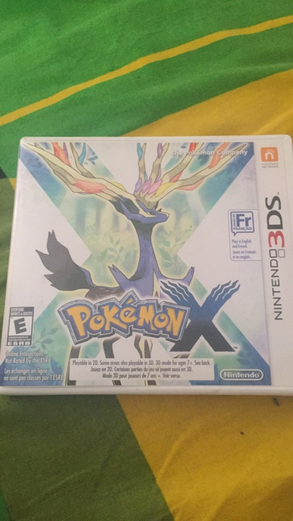 Pokemon X For 3DS NEGOTIABLE