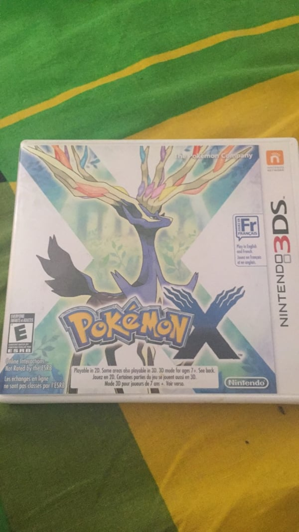Pokemon X For 3DS NEGOTIABLE d0ff8939-826b-4304-90af-622388ccc872