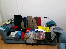 Boy clothes-total of 36 pieces of clothing,size (12) for age 10-11