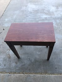 Antique side table that opens on top Franklin, 53132