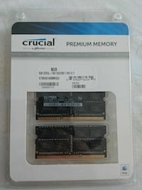 8GB to svart Crucial SO-DIMM ram-kortpakke Oslo, 1157