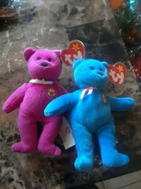 Beanie baby plush collectibles