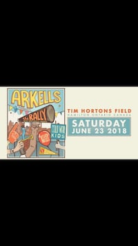 4 Arkells Tickets Woodstock, N4T