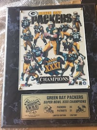 Green Bay Packers Super Bowl XXXI Champions poster