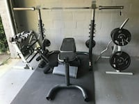 Weight bench and bar  Tysons, 22182