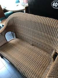 brown and white fabric sofa Germantown, 20874
