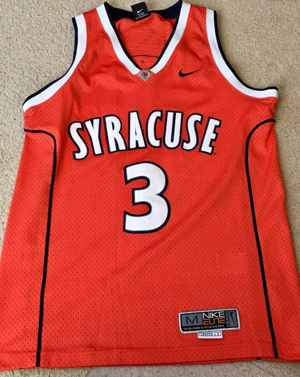 331e2a0e594f Used Nike Elite Syracuse  3 Basketball Jersey Size M for sale in Sayville -  letgo