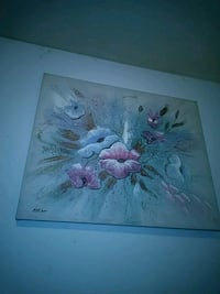 pink and white flower painting Chattanooga, 37421