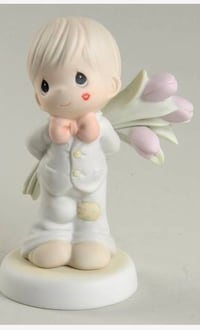 Precious Moments Figurine 'For the sweetest Tu-lips in town' Jupiter, 33458