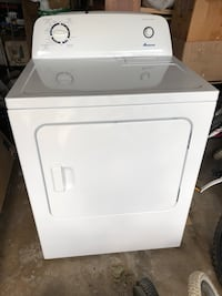 white front-load clothes washer 理查森, 75081