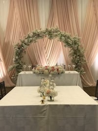 Backdrop Floral arch for sale Vaughan