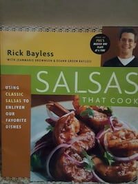 Salsas that Cook by Rick Bayless book