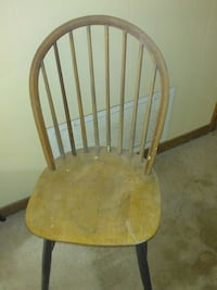 brown wooden windsor chair Theodore, 36582