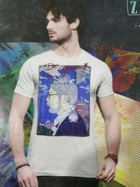white and blue tshirt Mumbai
