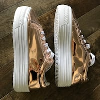 Chaussures neuves Rose gold London Rebel taille 6 UK/38 Montréal, H3C