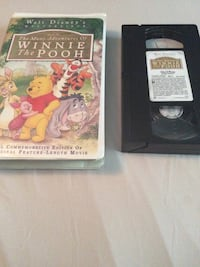The many adventures of winnie the pooh vhs tape 276 mi