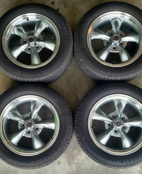 Used 16 In American Racing Wheels Torque Thrust 2 For Cleveland Letgo
