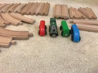 Wooden Train Set Centreville
