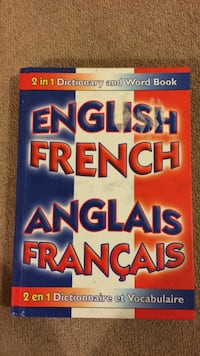English french dictionary Calgary, T3K 0G3