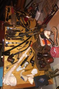Really cool pipe collection  Calgary, T2Y 2W5