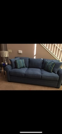 Blue  3 seater sofa Montgomery Village, 20879