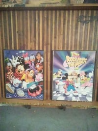 two Disney's Mickey mouse and friends posters Washington, 63090