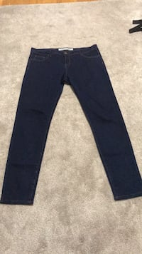 blue denim straight cut jeans Montgomery Village, 20886