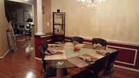 Dining set 6 chairs Bristow