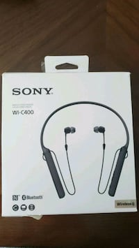 SONY Wireless Stereo Headset WI-C400(New) Kitchener, N2E 3T7