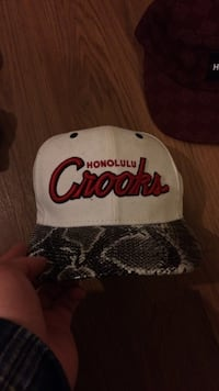 white honolulu crooks print cap Lowell, 72745