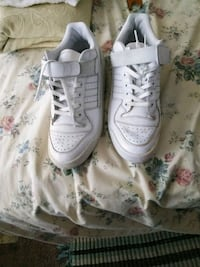 pair of white Nike Air Force 1 low shoes Milford Mill, 21244