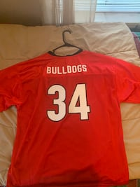 Georgia Bulldogs Football Jersey XL