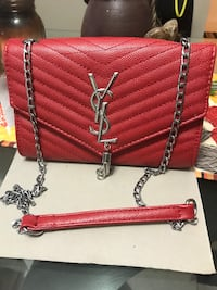 YSL red purse  Edmonton, T5G 1X5