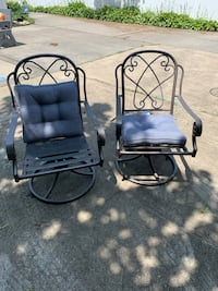Set of 2 patio chairs with cushions!! Shirley, 11967