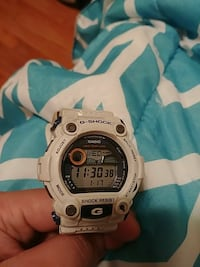 White and blue G-Shock digital watch New Bedford, 02740