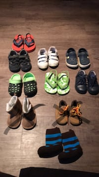 toddler's assorted pairs of shoes North Middlesex, N0M