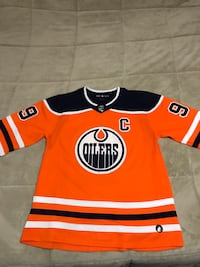 orange and black Adidas jersey shirt Edmonton, T5C 0R4
