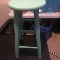 Teal bar stool Bowmanville, L1C 3M2