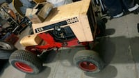 Case 220 lawn mower Hartly, 19953
