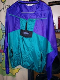 purple and teal pull over jacket( columbia jacket Lincoln, 68502