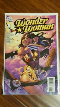#1 Wonder Woman comic book DC