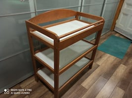 Baby Change Station - Solid Wood