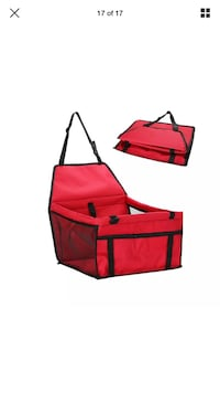 Dog Car Seat, red