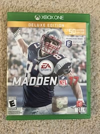 Xbox One Game Madden 17 Deluxe Edition  Pittsburg, 94565
