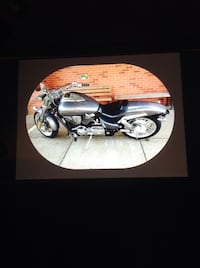 black and gray standard motorcycle North Little Rock, 72118
