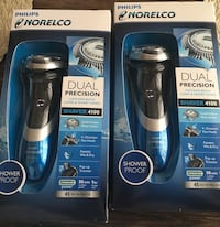 2 brand new norelco shaver 4100 asking $40 each or $70 for both