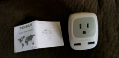 Power converter- iceland to usa electric adapter