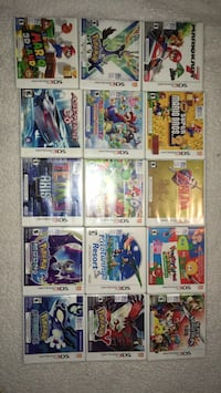 Nintendo 3DS games assorted  Mississauga, L5N