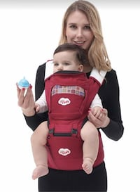 Brand new All Seasons 360° Ergonomic Baby & Child Carrier with Hip Seat, Carriers Front and Back Adjustable Newborn to Toddler Las Vegas, 89178