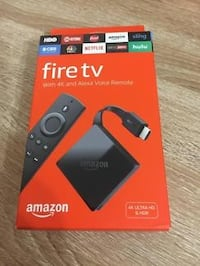 Fire TV in box and updated Centreville, 20120